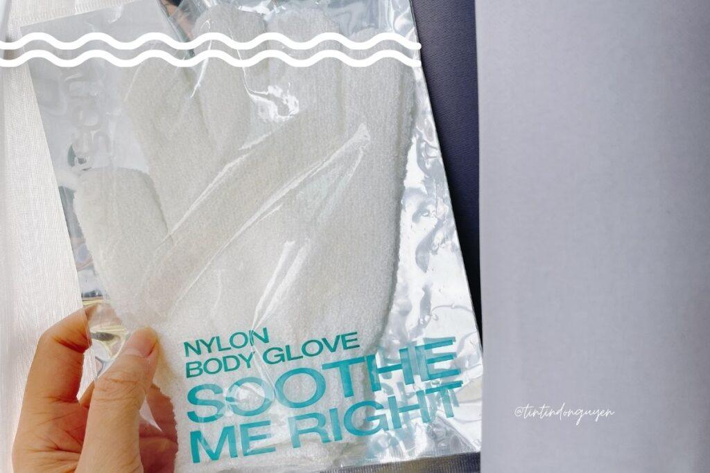 review chi tiết găng tay tắm tẩy tế bào chết